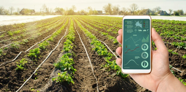iot in smart agriculture system