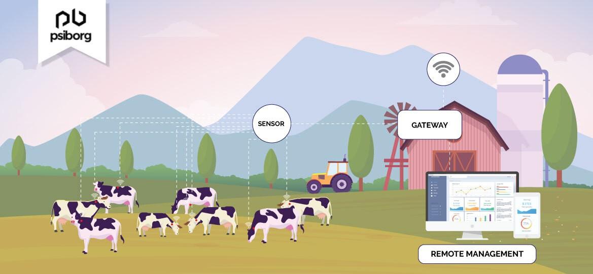 livestock monitoring using IoT