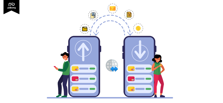 data transmitting in an iot application