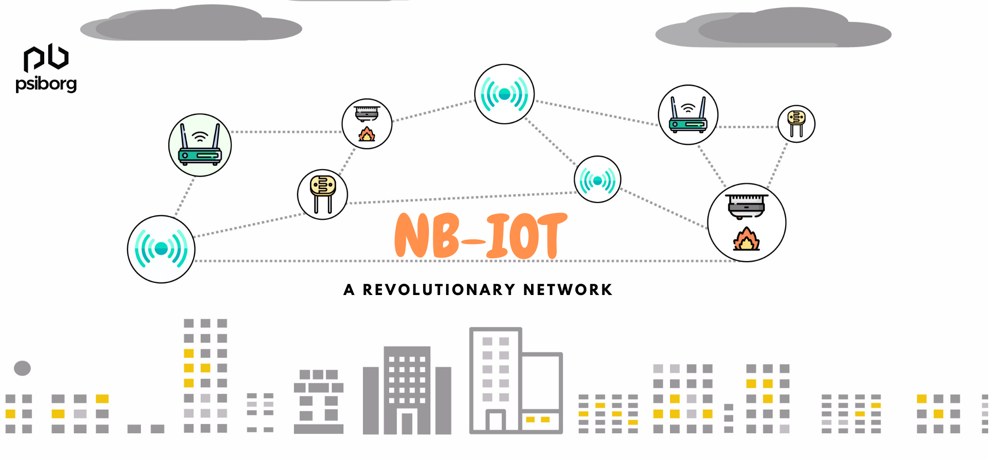 NBIoT for connecting iot devices