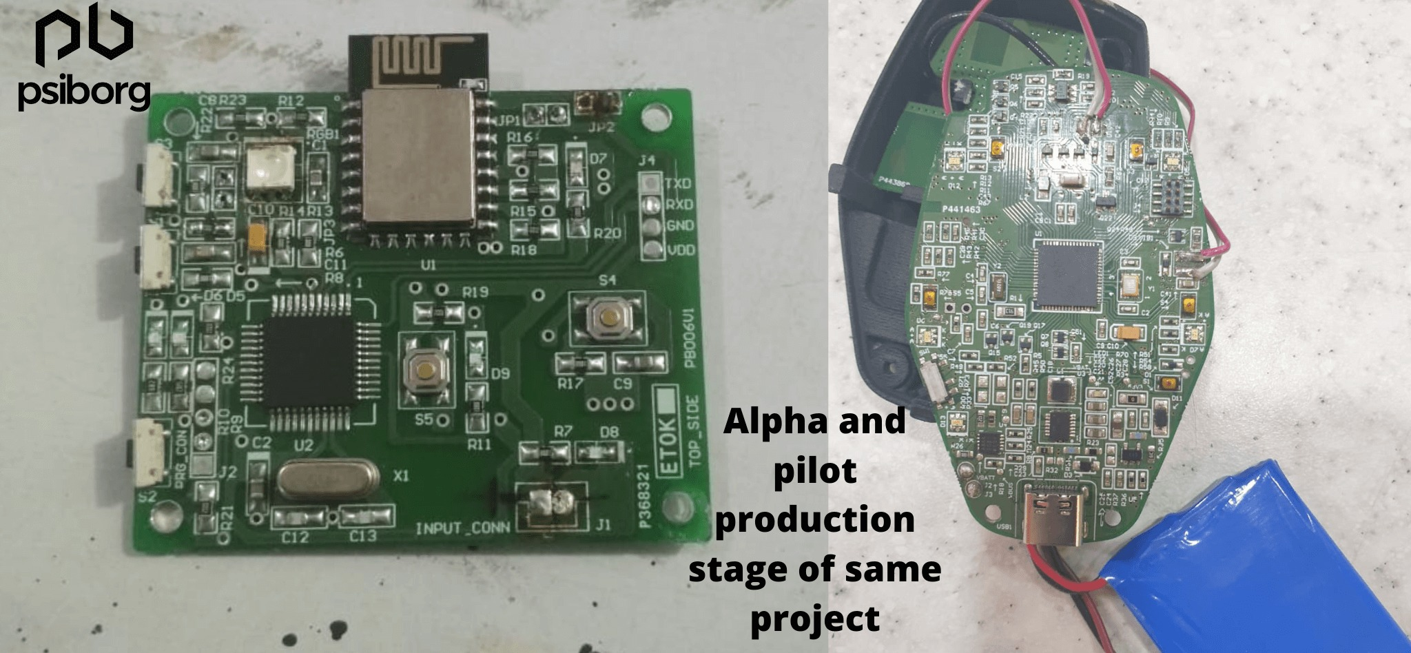 Alpha phase and Pilot production in IoT prototyping